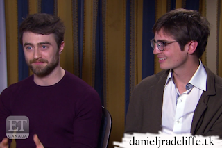 Updated: ET Canada interviews Daniel Radcliffe and Simon Rich at the TCA Winter press tour