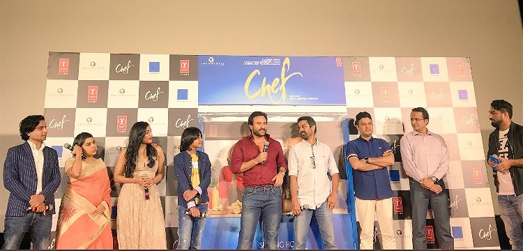 Saif Ali Khan at Chef Film Trailer Launch