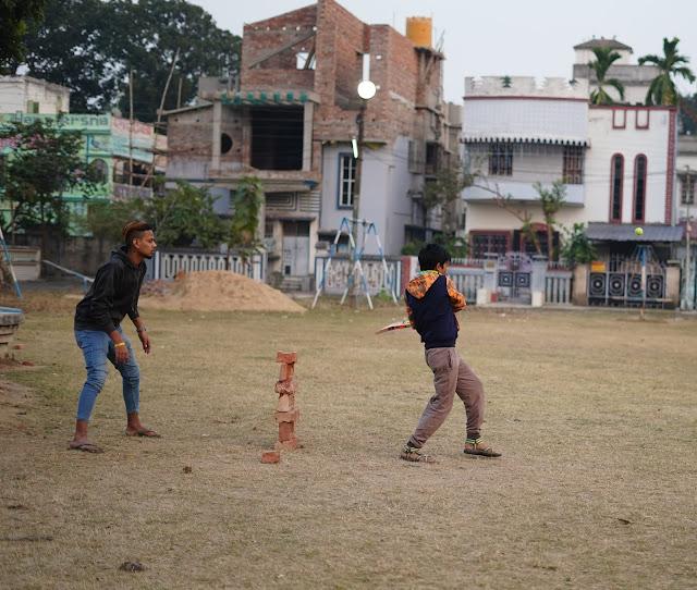Nephew Rick Playing Cricket 15