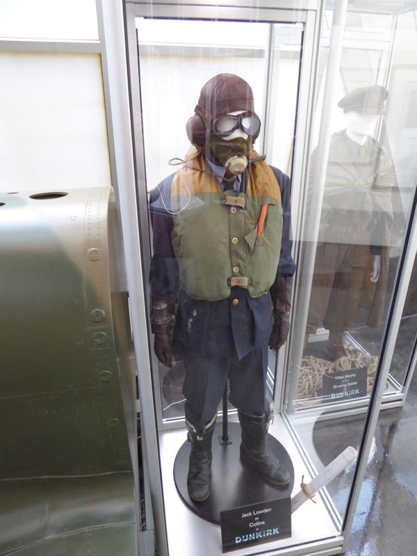 Jack Lowden Dunkirk Collins RAF pilot costume