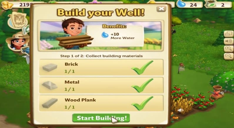 Download FarmVille 2: Wisata Desa Mod Apk v7.0.1420 unlimited keys Terbaru
