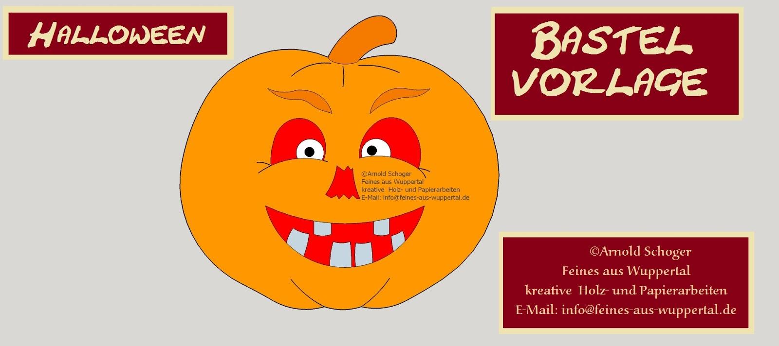 Halloween basteln mit Kindern, Halloween Kürbis Laubsäge Vorlage ...