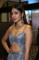 Rhea Chakraborty in a Sleeveless Deep neck Choli Dress Stunning Beauty at 64th Jio Filmfare Awards South ~  Exclusive 111.JPG
