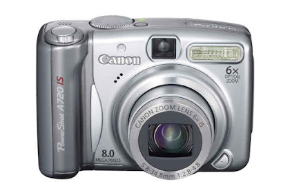 Canon PowerShot A720 IS Driver Download Windows, Mac