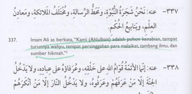 Aqidah Syiah: Ahlul Bait Adalah Tempat Persinggahan para Malaikat