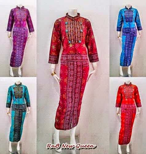 Model Baju Batik Wanita RnB New Queen Series