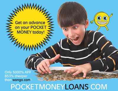 London Art News: Pocket Money Loans