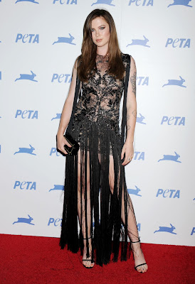 Ireland Baldwin – PETA's 35th Anniversary Party in Los Angeles