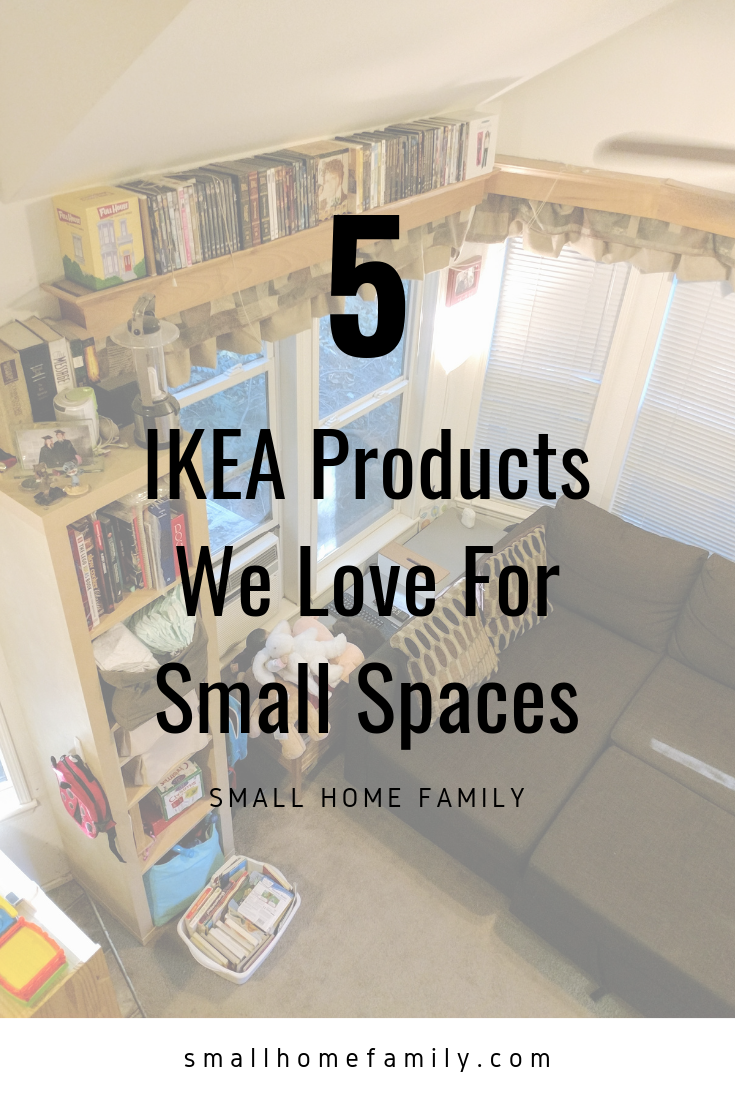 Five Ikea Products We Love For Small Spaces