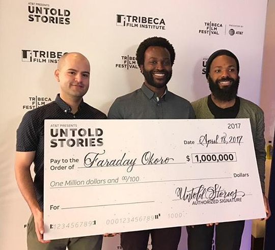 nigerian wins $1 million from at & t