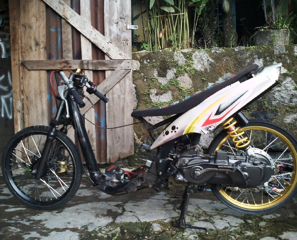 modifikasi mio drag liar