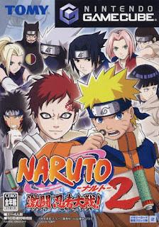 Naruto Clash of Ninja 2 Nintendo Gamecube PC Window