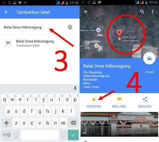 membuat label lokasi pada maps google