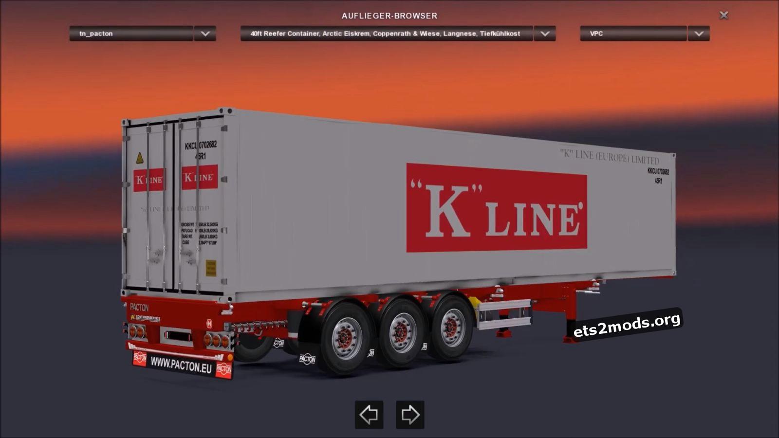 Pacton Flex-XL Container Pack