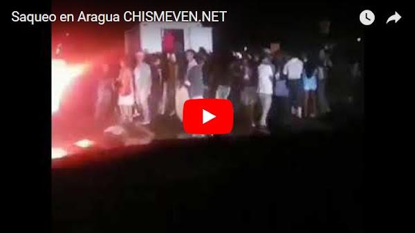Saquean camión de quesos y de yucas en el Estado Aragua