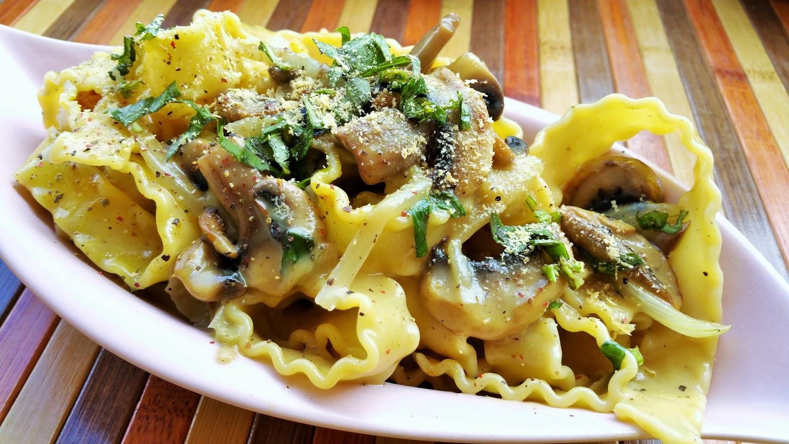 Vegspiration blog de inspiraci n vegana pasta con salsa - Salsas para pasta con nata ...