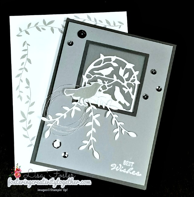 Botanical Bliss, Botanical Tags Dies, Wedding Card, Stampin' Up!