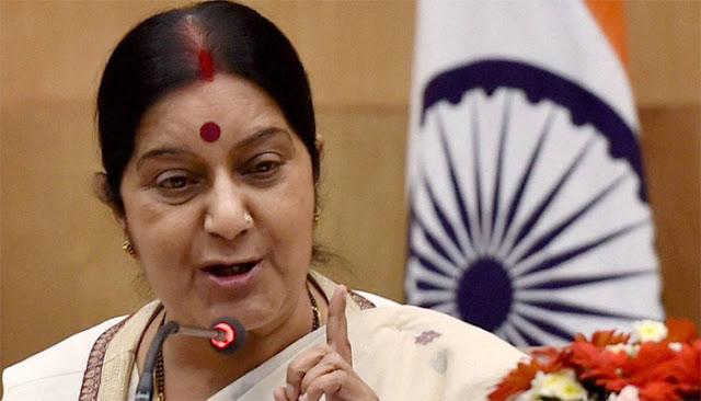 NSG में भारत की सदस्यता के खिलाफ नहीं है चीन: सुषमा स्वराज