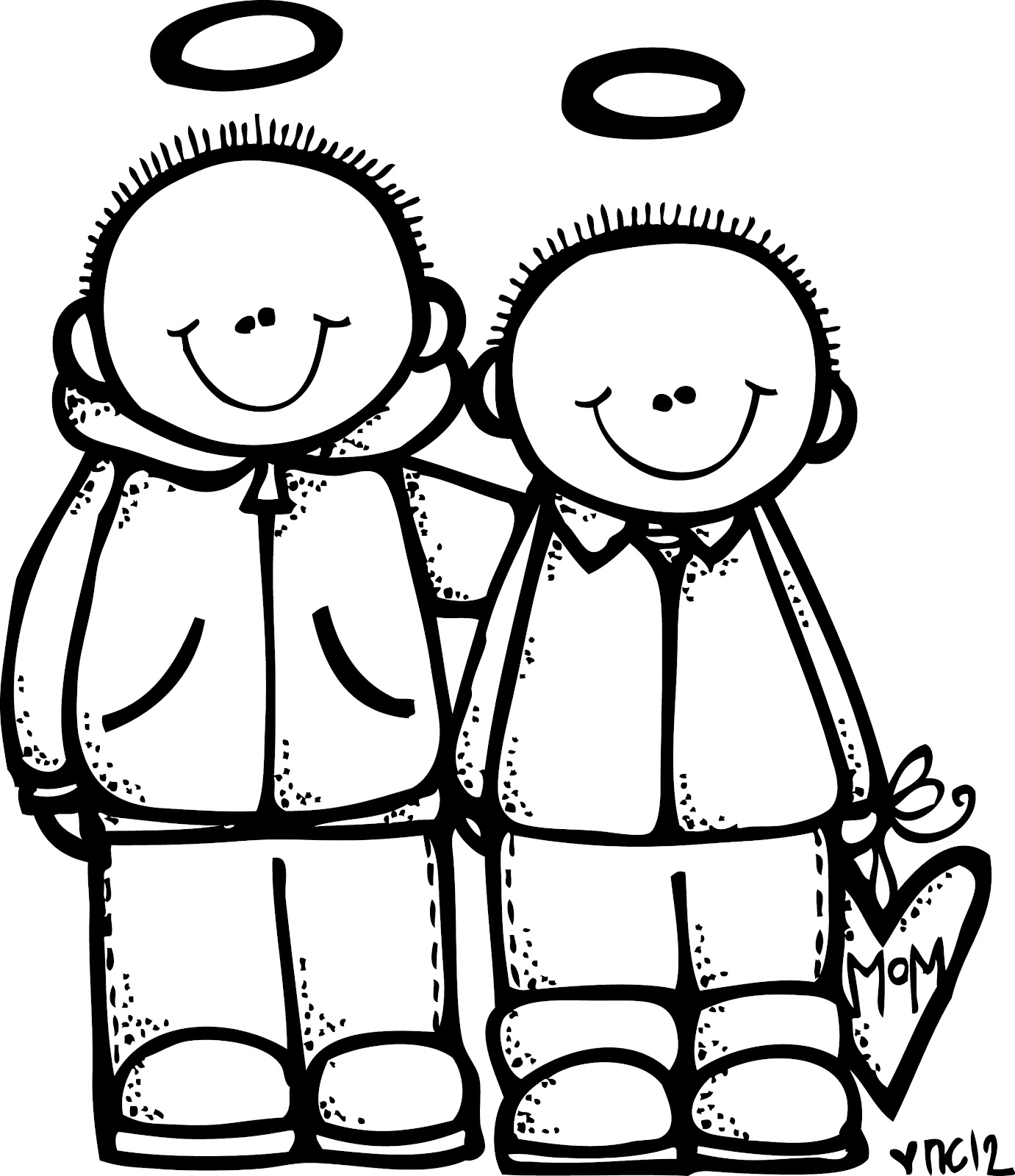 Melonheadz Lds Illustrating Charlie And Braden