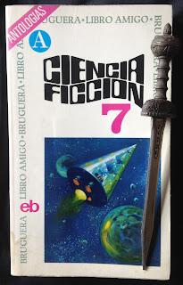 Portada del libro Ciencia ficción 7, de varios autores