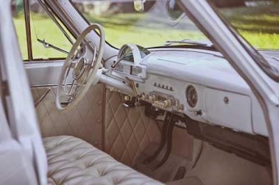 Gambar Stir mobil kuno