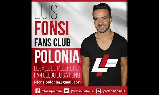 Zapisy do oficjalnego fanklubu Luisa Fonsi w Polsce