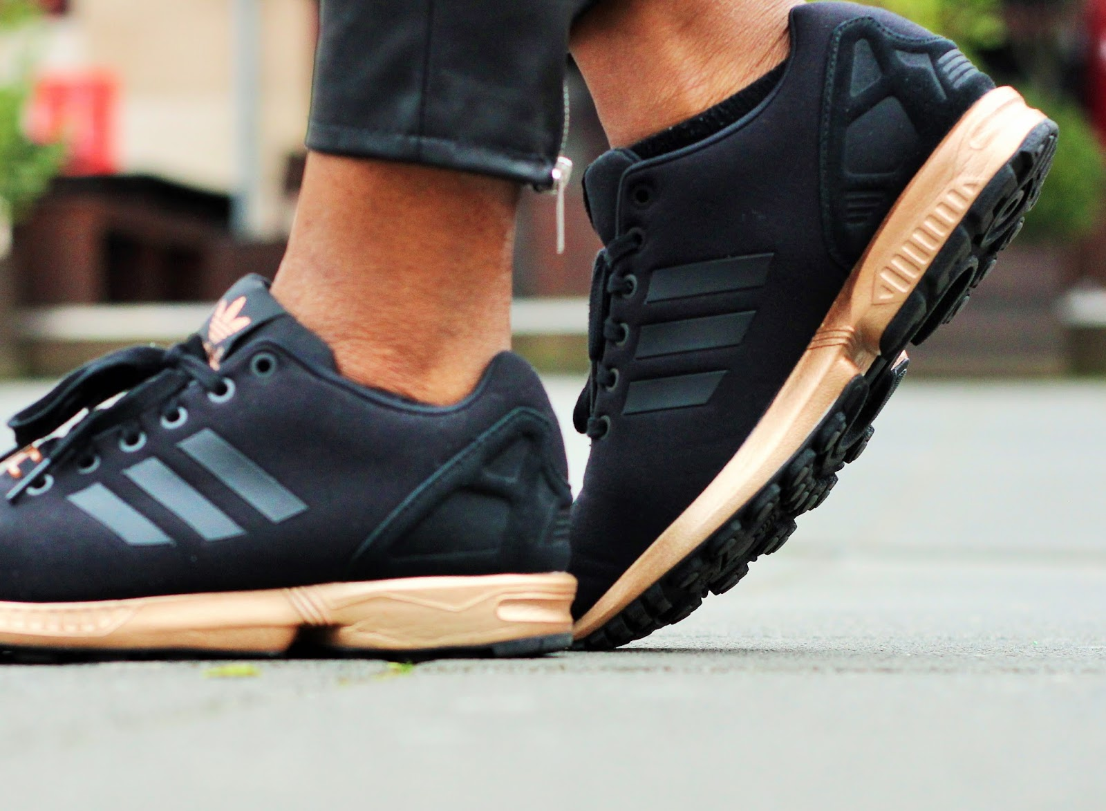 Adidas Zx Flux Copper Gold