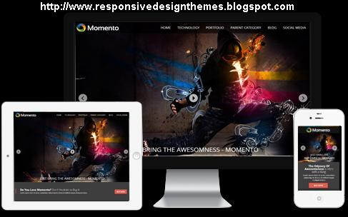 Momento Responsive Fashion Blogger Template - fashion blogger templates