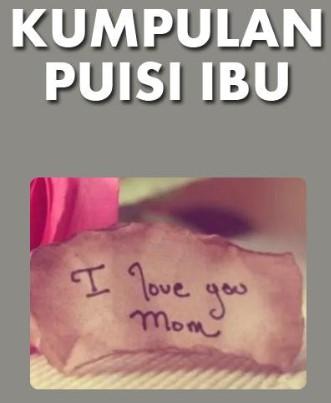 puisi ibu dan puisi tentang ibu