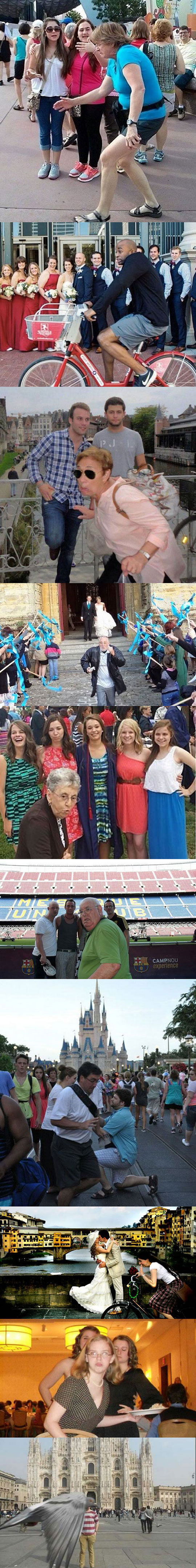 Funny Awkward Photo Bombs Joke Picture Collection