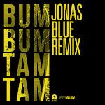 Mc Fioti, Future, J Balvin & Stefflon Don - Bum Bum Tam Tam (Jonas Blue Remix) - Single Cover