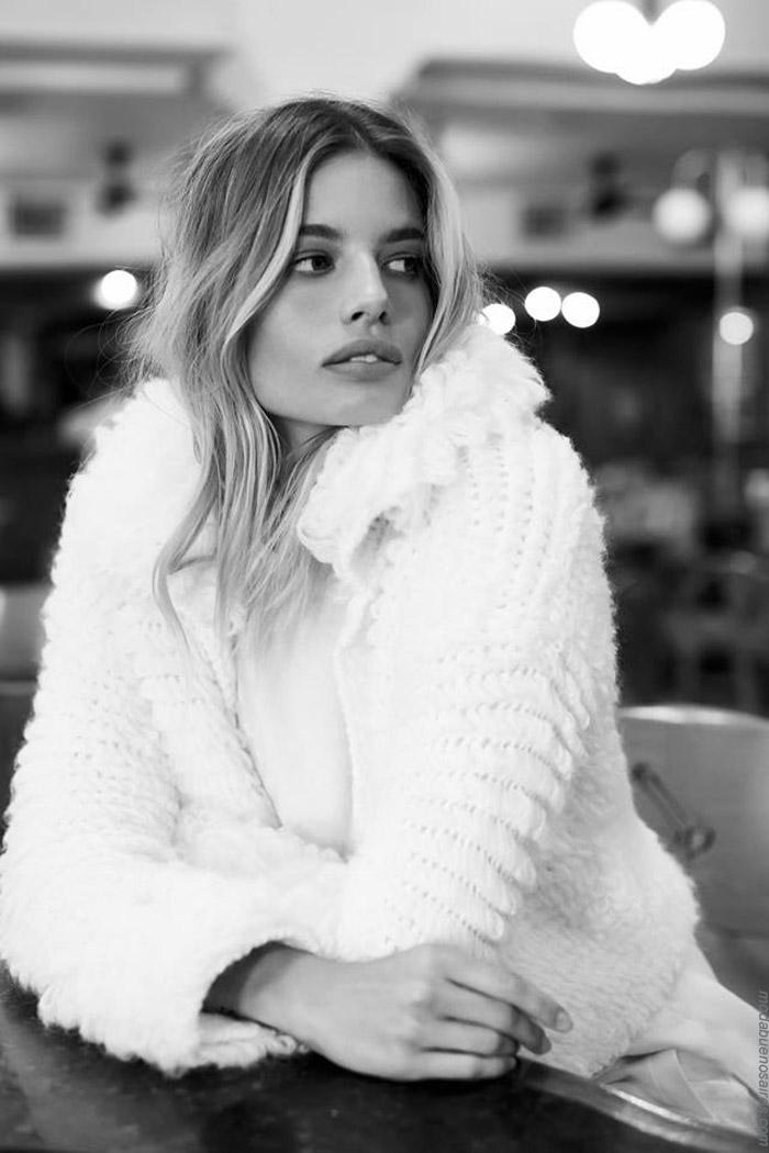 Sacos tejidso invierno 2019. Moda invierno 2019 tejidos.