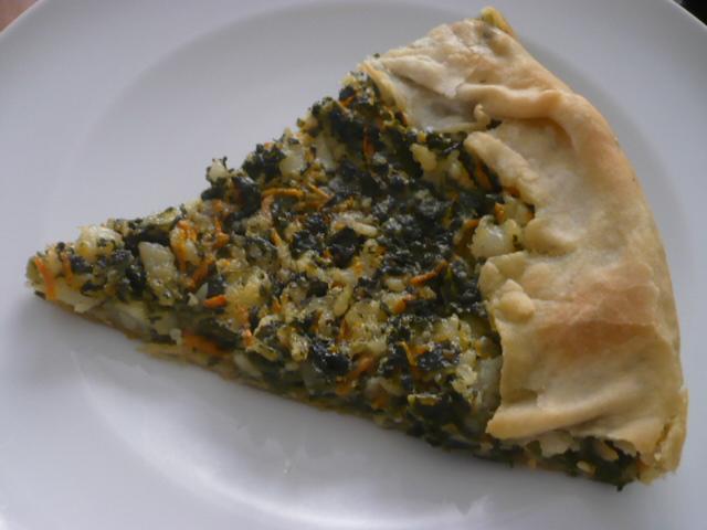 la mia dieta vegana: torta di verdure