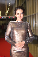 Actress Catherine Tresa in Golden Skin Tight Backless Gown at Gautam Nanda music launchi ~ Exclusive Celebrities Galleries 076.JPG