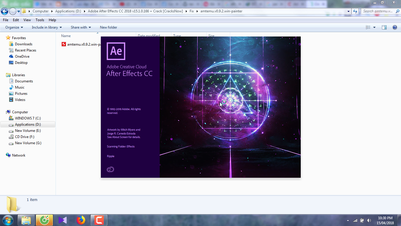 Adobe After Effects CC 2018 15.1.0.166
