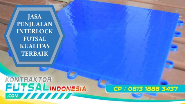 Pusat Jual Lantai Interlock Murah untuk Lapangan Futsal
