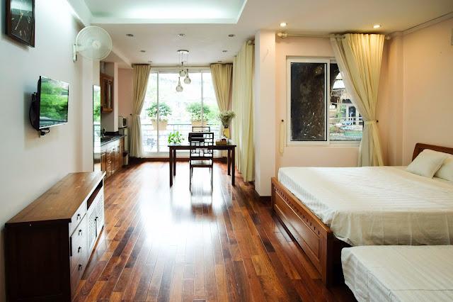 Thiết kế nội thất đồ gỗ cho homestay