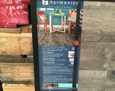 Replace your carpets with the Harmonics Unilin Mill Creek Maple Laminate Flooring