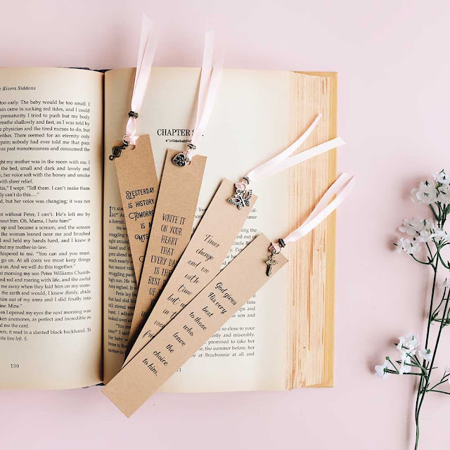 New! Charm Bookmark Giveaways - papemelroti gifts - inspiration