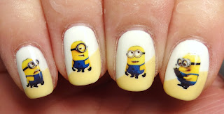 Minion Decals