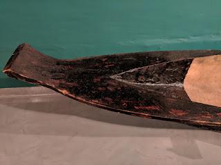 Shaur logboat detail