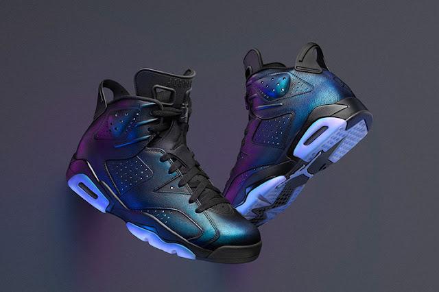 Jordan 6 Chamaleon