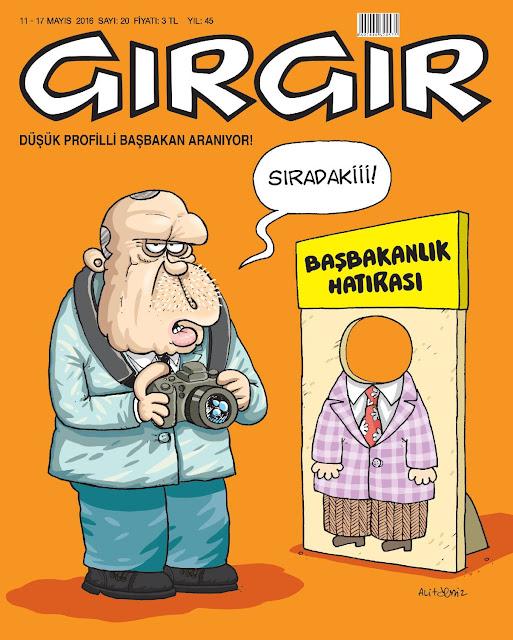 Gırgır Dergisi - 11-17 Mayıs 2016 Kapak Karikatürü
