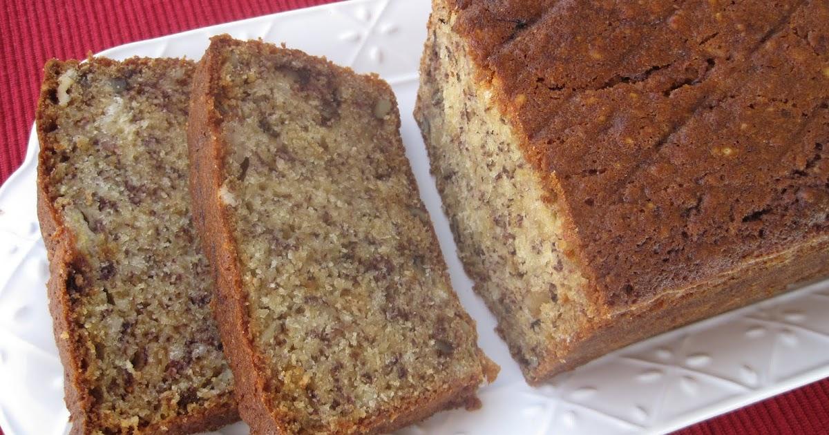 Lynda S Recipe Box Very Moist Bannana Bread With Walnuts