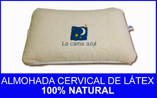 ALMOHADA CERVICAL DE LÁTEX 100% NATURAl