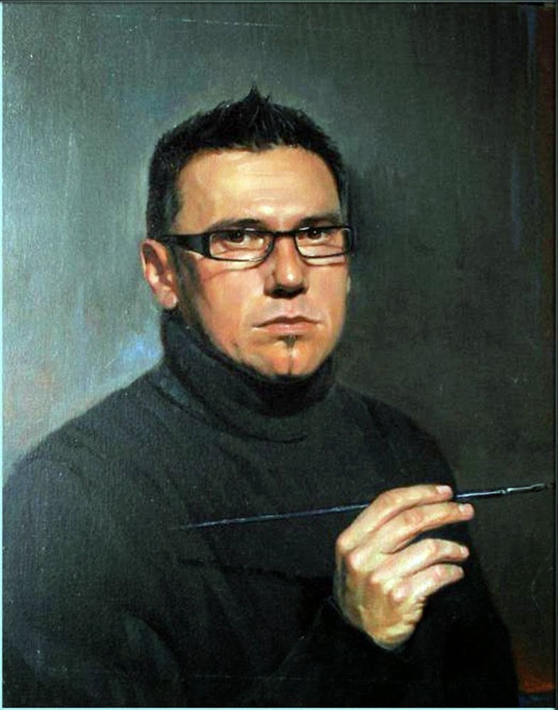 Eugenio Kabirov, Self Portrait, Portraits of Painters, Fine arts