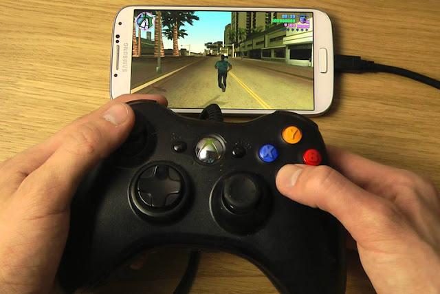 Cara memakai joystick di android