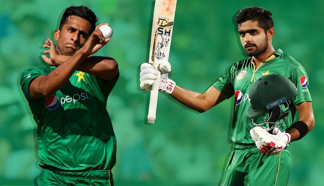 Babar Azam and Hassan Ali