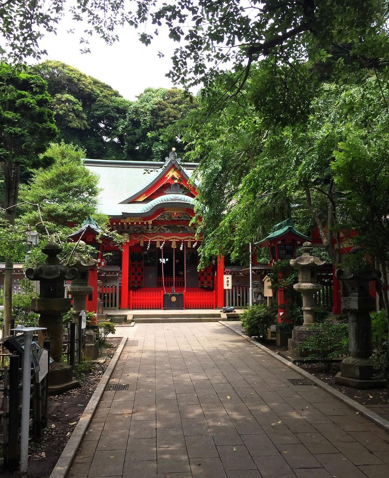 voyage travel au blog japon à Tokyo Enoshima pleins de belle photographies temples et sanctuaires
