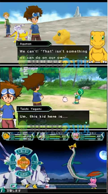 Digimon Adventure PSP ISO (English Patch) Emulator PPSSPP